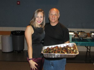 Kelsey Diamantis, Bobby Orfanos of Zorba's Taverna