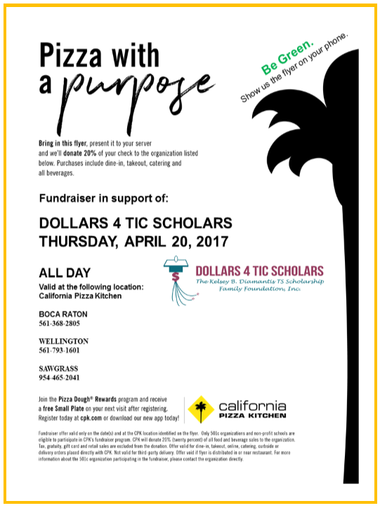 D4ts Dining Day At California Pizza Kitchen